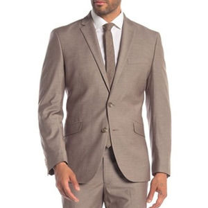 Kenneth Cole Reaction  Tan Notch Lapel Suit 48R
